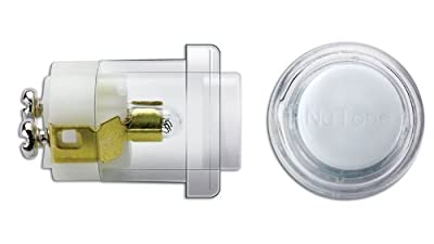 Broan-Nutone PB18WHCL Unlighted Round Door Chime Wired Push Button