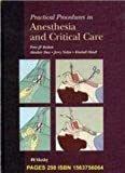 img - for Practical Procedures in Anesthesia and Critical Care, 1e by Peter J. F. Baskett FRCA FRCP FFAEM (1994-11-26) book / textbook / text book