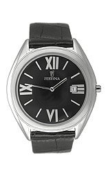 Festina Men's Leather Strap watch #F67302