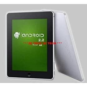 Newest Android 2.2 Freescale 8 Imx515 Cortex A8 512mb 4gb 3g Wifi External 3g G-sensor Map Tablet Pc MID
