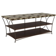 Cheap Atlantic NUVO 3-TIER BROWN/BROWN MARBLE (Stands Mounts & Furniture / TV Stands) (ITE-CB5092-DBD|1)