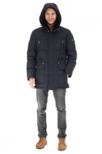 """SI-B506 Herren Daunenjacke """"SNOWIMAGE"""" mit abnehmberem Echtfellkragen (Länge ca.87 cm) schwarz günstig bestellen"""