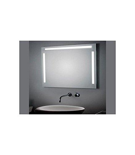 Koh-I-Noor L45923 Specchio Tre Luci Laterale e Superiore LED 140 X, Cromo