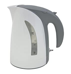 10 Cup 1.8 Liter White Milano Cordless Electric Kettle by ZUCCOR (BOIL-DRY PROTECTED U.K.... by ZUCCOR