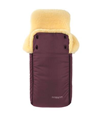 Hofbrucker seit 1948 Sacco Per Passeggino in pelliccia di agnello Luxus [Prugna]