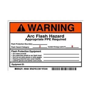 Label, Arc Flash, Pk5