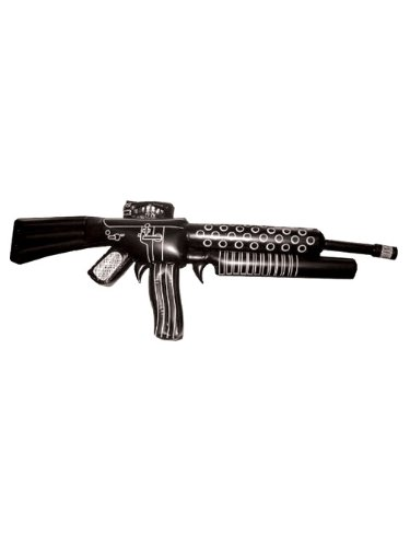 Tony Montana Gangster Theatre Costumes Accessory Fake Gun Inflatable Gun