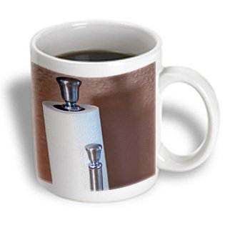 Mug_79686_1 Jos Fauxtographee Indoor - A Metal Holder With Paper Towels On It - Mugs - 11Oz Mug