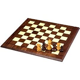 827.40 21-Inch Tournament Chess Set with 3 34-Inch Chessmen (Oversized)