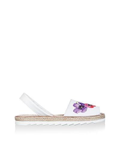 AVARCA Sandalo Minorca  [Multicolore/Bianco]