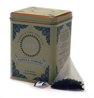 Harney & Sons Fine Teas Vanilla Comoro Tin - 20ct Sachets