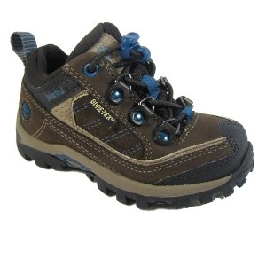 Timberland Boys Hypertrail Gore-Tex Oxford Trainers - Brown