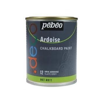 pas cher p b o peinture ardoise gris ardoise 250 ml. Black Bedroom Furniture Sets. Home Design Ideas