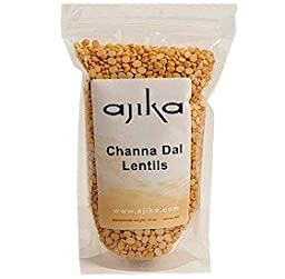 Ajika Channa Dal, Bengal Gram- Lentils, Sweet and Nutty Flavor, 14-Ounce