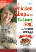 Image of Chicken Soup For The Cat Lover's Soul Senior Hairball Dry Cat Food