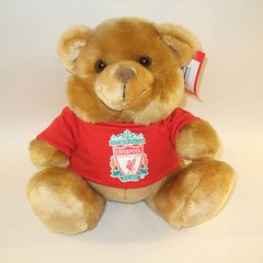 OFFICIAL LIVERPOOL FC BEAR WITH CLUB CREST T-SHIRT