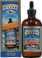 Natural Immunogenics - Silver Hydrosol 8oz Liq, 8 oz liquid
