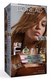 L'Oreal Paris Feria Multi-Faceted Shimmering Colour, Sparkling Amber