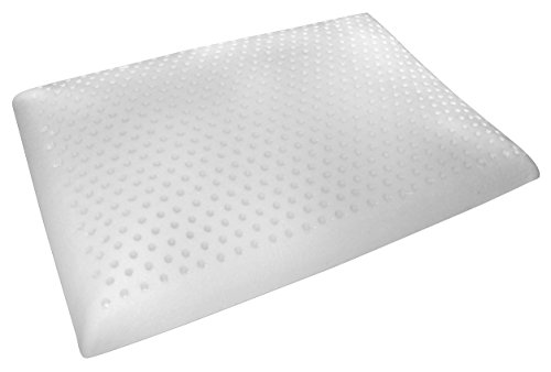 Slim Sleeper Natural Latex Foam Pillow Thin Ventilated