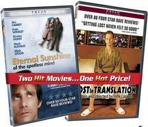 Eternal Sunshine of the Spotless Mind / Lost in Translation Value Pack