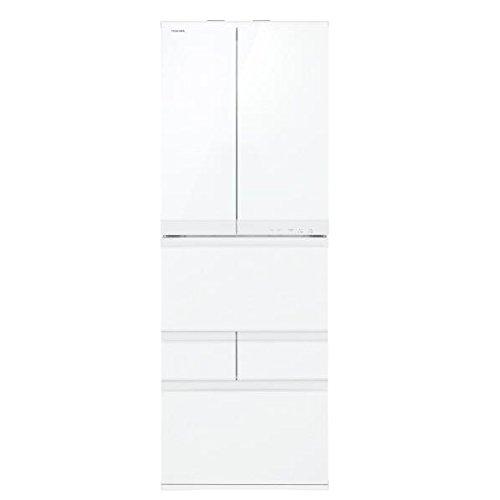東芝 6ドア冷蔵庫 「マジック大容量 FCシリーズ」(458L) GR-J460FC-WS シェルホワイト