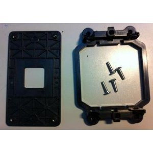 AMD CPU Fan Bracket Base for AM3+ socket with Back Plate and Four Screws