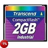 Transcend TS2GCF100I Compact flash  Industriale 2Gb 100x