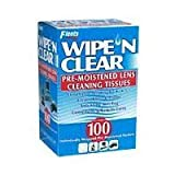 Flents Wipe 'N Clear Pre-moistened Lens Wipes 100 ea