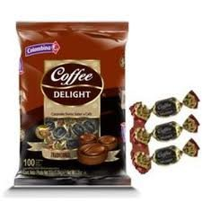 COFFEE DELIGHT SOFT CANDY 10O UNITS 13 OZ CARAMELO BLANDO DE CAFE 100 UNIDADES