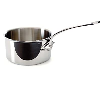 Mauviel Cookware: M'Cook Stainless Steel Saucepan