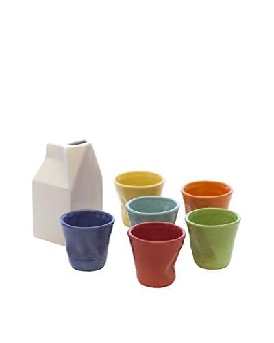 Kaleidos Set Vaso 7 Piezas Multicolor