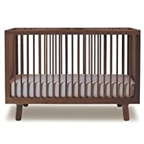 Hot Sale Oeuf Sparrow Crib, Walnut