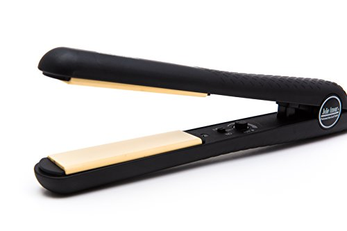 PROFESSIONAL FLAT IRON by Jolie Amour - salon grade HAIR STRAIGHTENER - BEST CERAMIC FLAT IRON for any grade hair - high heat and comes in a beautiful designer gift box