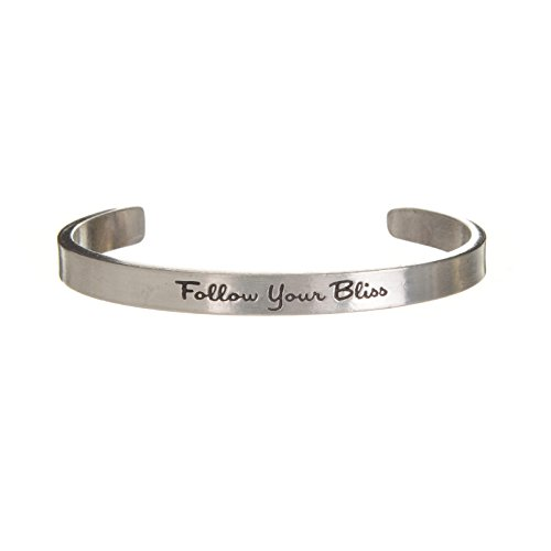 FOLLOW YOUR BLISS QUOTABLE CUFF BRACELET (Poetic Bliss Wax compare prices)