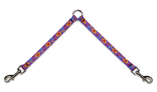 Lupine Coupler for Small Dogs, 1/2-Inch Wide by 18-Inch Long, Spring Fling