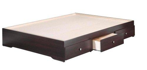 Nexera 4654 Pocono 3-Drawer Storage Bed, Full, Espresso front-479059