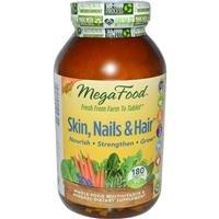MegaFood Skin, Nails & Hair 90 tablets Cali Blend