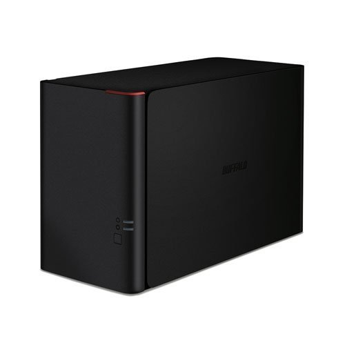 Buffalo LinkStation 420 2TB (2 x 1TB) High Speed NAS Server - Black