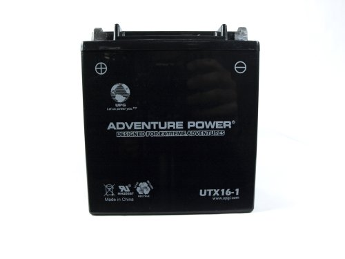 UPG UTX16-1  Adventure Power Power Sport AGM Series Sealed AGM Battery