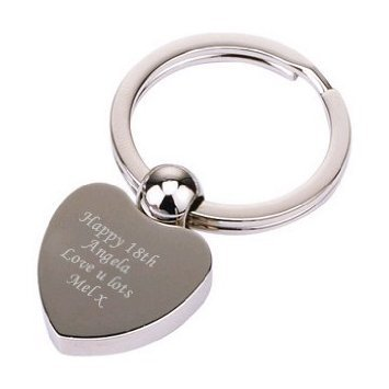 nickel-heart-ball-keyring-personalised-free-up-to-20-characters-please-e-mail-us-with-your-requireme