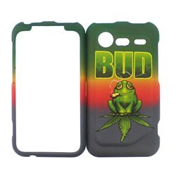 HTC DROID INCREDIBLE 2 FROG HARD PROTECTOR COVER CASE / SNAP ON PERFECT FIT CASE
