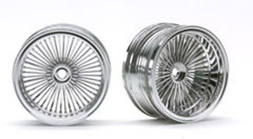 Pegasus Hobby 1/10 RC Chrome Wire Rims
