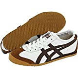 Onitsuka Tiger Mexico 66 White/dark brown Mens US 8.5 Women's US 10