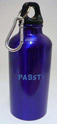 personalizada-botella-cantimplora-con-mosqueton-con-pabst-nombre-de-pila-apellido-apodo
