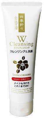 四季折々 白椿油Wクレンジング洗顔F 190g