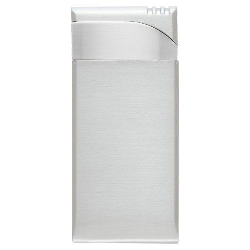 Soft Flame Matt/Satin Lighter with Chrome Top