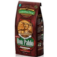 Cafe Don Pablo Decaf Gourmet Coffee Water Process Colombian Decaffeinated Medium-dark Roast Whole Bean. 2 Lb Bag Thank you for using our service