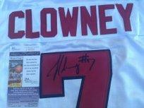 Jadeveon Clowney signed South Carolina USC Gamecocks white jersey JSA COA