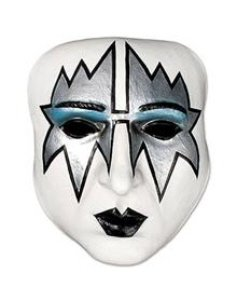 Amazon.com: KISS Spaceman Half Mask Adult Halloween Costume Accessory