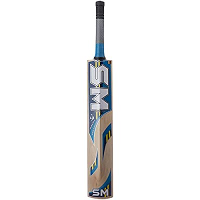 SM Tennis Super Special (Megatide) Kashmir Willow Cricket Bat, Short Handle